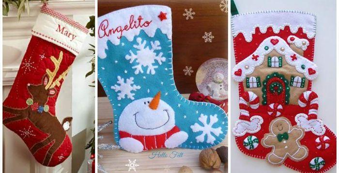 Mira Cómo Hacer Tus Propias Botas De Navidad… Te Encantarán!