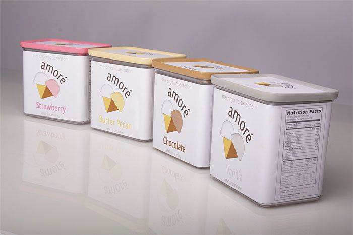 Unique Packaging Design, Amore Ice Cream #Packaging #Design (http://www.pinterest.com/aldenchong/)