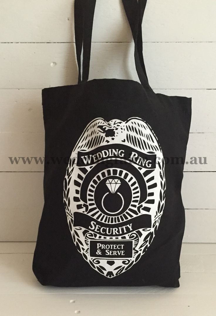 Ring Security Carry Bag - The Wedding Faire