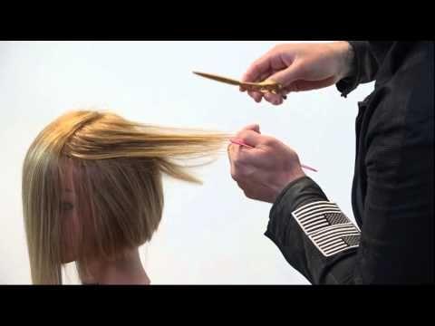 Veja e aprenda a fazer um corte bob com franja lateral  #franja #cabeloscurtos #pelocorto #shorthaircut