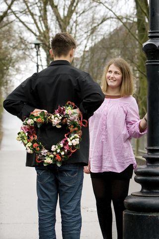 BLOG FLORYSTYCZNY: Co podarować na Walentynki?