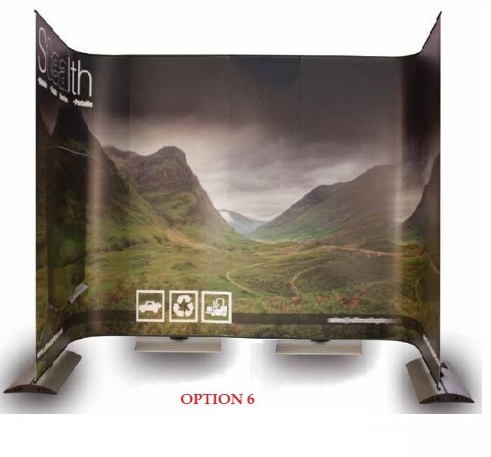 3x Stealth Banners + 3x Carry Bags + 3x Stealth Flexi Kits - (holds 5x *Graphics)