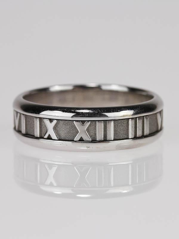 tiffany wedding rings for men. tiffany \u0026 co. 18k white gold atlas band ring wedding rings for men a