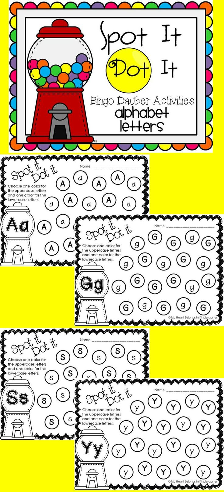 alphabet letter identification and discrimination - Fun Letters To Print