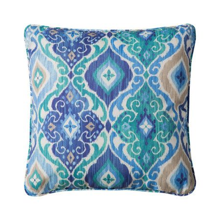 Outdoor Cushions Sea Mist Medallion Print For The Home