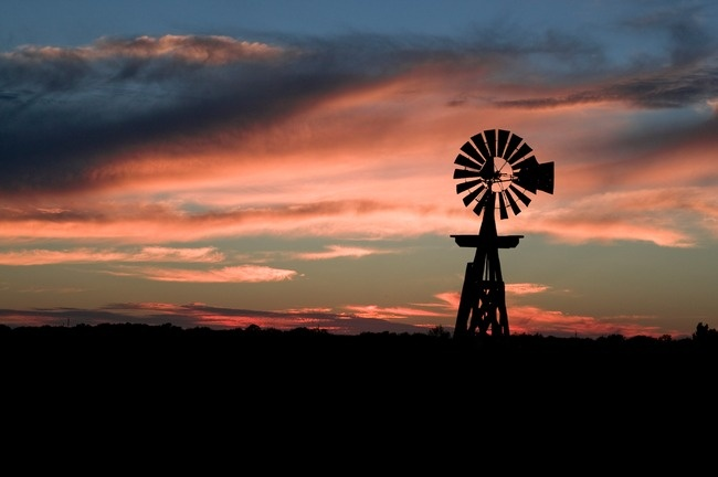 Texas Hill Country Windmill