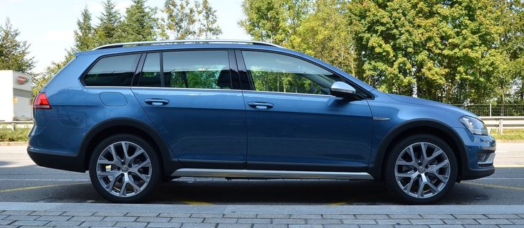 The new Volkswagen Golf Alltrack. I'm not quite ready for a new car (its only 2 years old), but if I had to trade in my GTI, this is what I'd get. In this color, with Marrakech interior.
