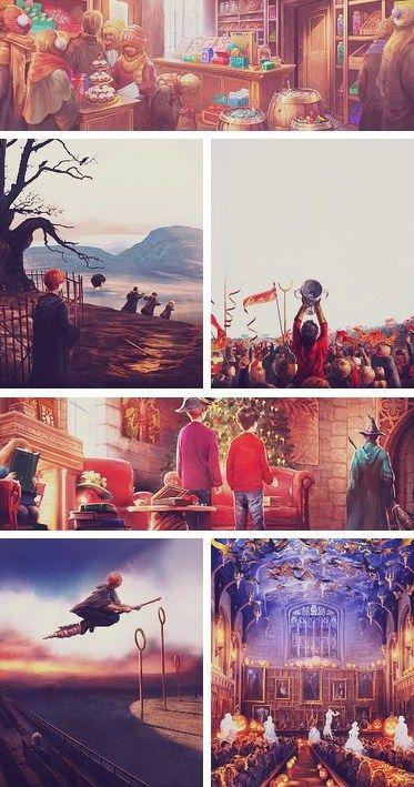 Harry Potter concept art.
