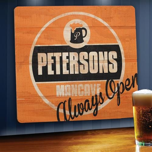Wood Tavern and Bar Signs - Always Open