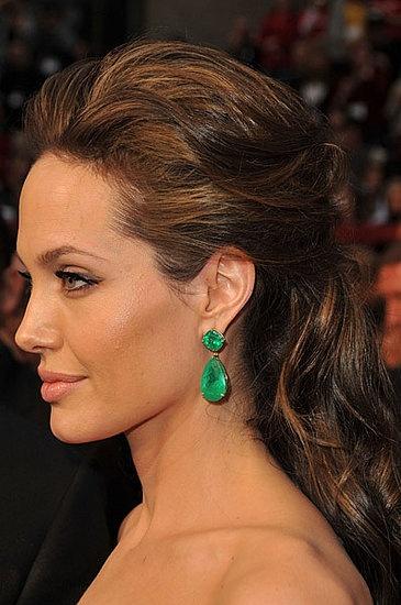 Angelina Jolie #hair #hairstyle #Angelina