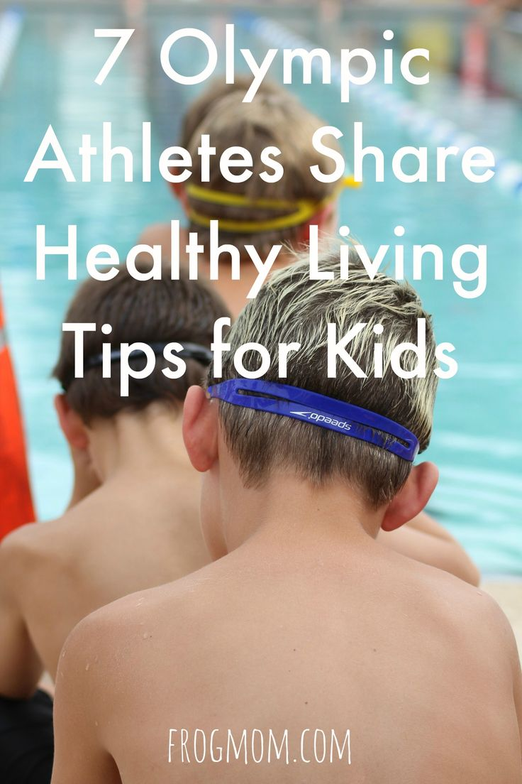 In this piece, 7 Olympic athletes share healthy living tips for kids and explain how they got to where they are in their sport. Includes tips on hydration, training and motivation. Feel inspired and get active with these words from the best athletes.