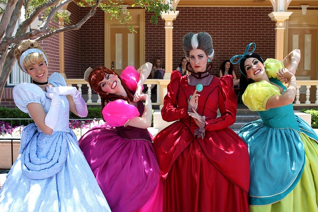 Cinderella and the Tremaines by jodykatin, via Flickr