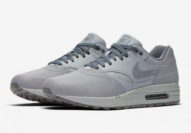Thanks to Nike, we have official images of the new Nike Air Max 1 Premium SE Wolf Grey / Cool Grey colorway. Release date and pricing info is also provided.