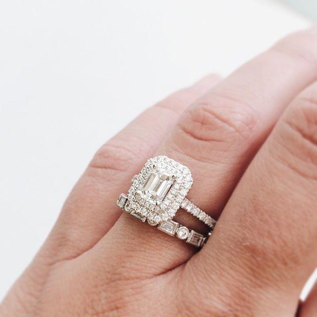 Best 25 Emerald Cut Diamonds Ideas On Pinterest