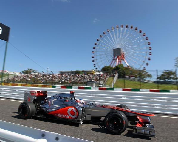 formula 1 crash at japan video
