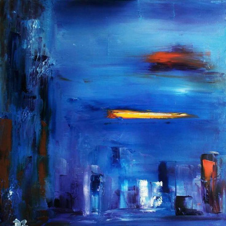 Narnia, 60 x 60 cm oil on canvas by Daria Zaseda