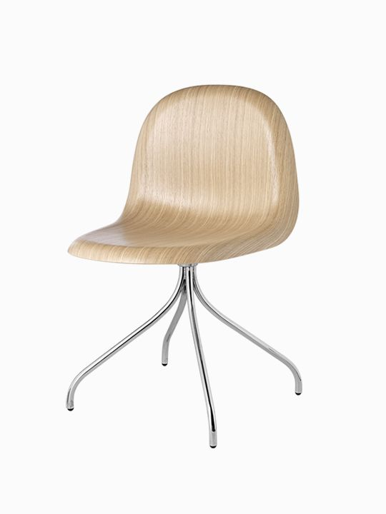Gubi 9 chaise chêne