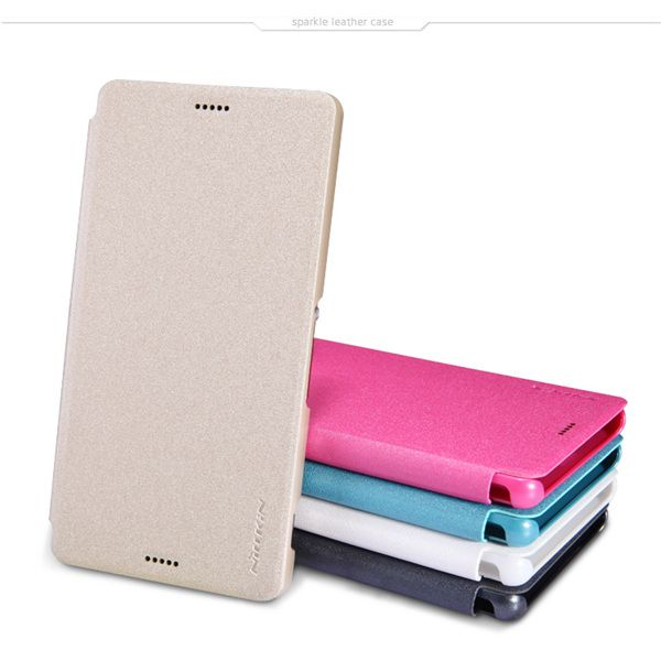 NILLKIN Sparkle Leather Protective Case For Sony Xperia Z3 L55