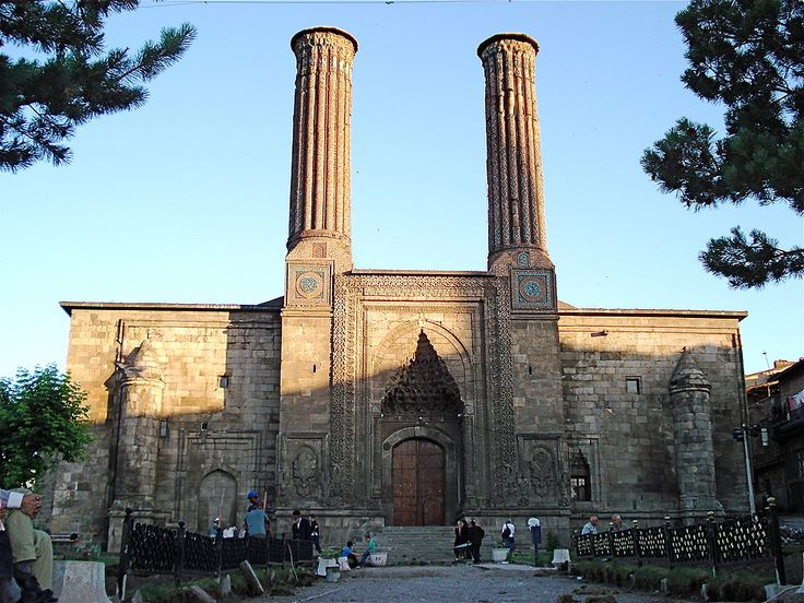 Çifte Minareli Medrese - Erzurum - Vikipedi