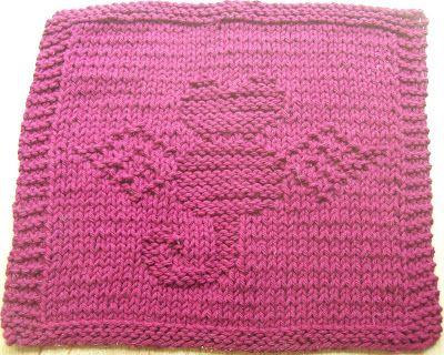 knitted dishcloth patterns | ... knit dishcloth pattern free knitted dish cloth patterns free pattern