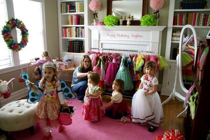 Rainbow Dress Up Party