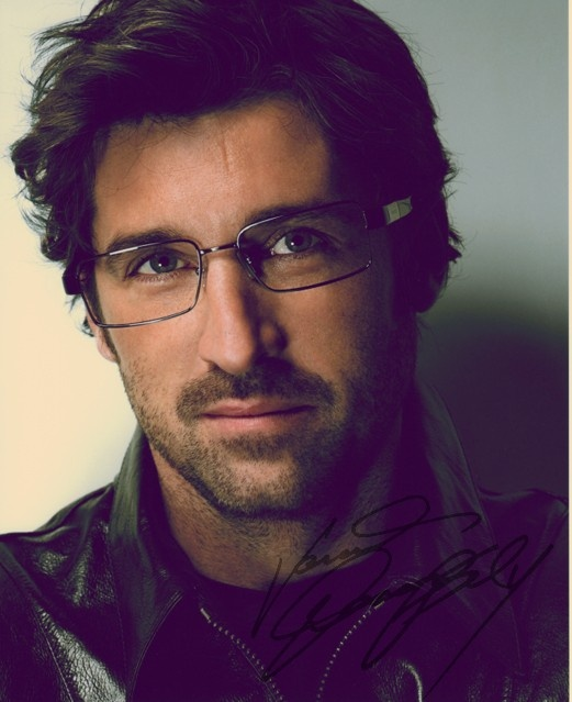 Patrick Dempsey...actually any attractive man in glasses. MELT
