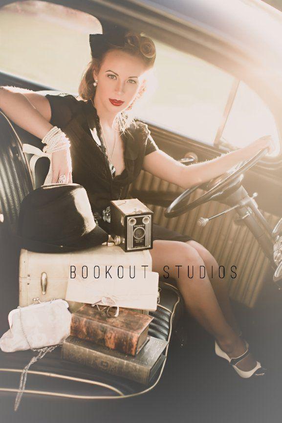 Vintage Inspired Senior Pictures in Huntsville, AL - Bookout Studios Blog