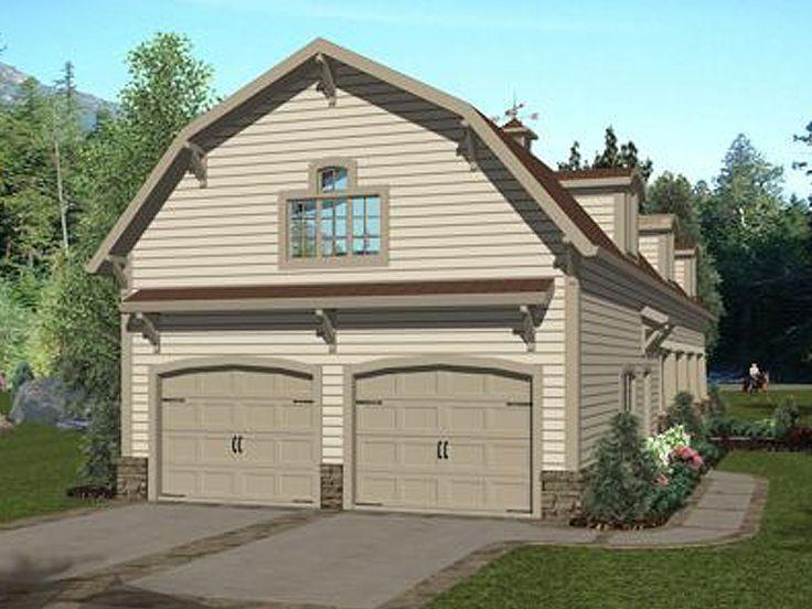 12 best unique garage plans images on pinterest car for Cool house plans garage apartment