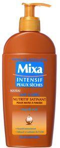 Lait Corps Nutritif Satinant - Karité Pur de Mixa : Fiche complète et 304 avis consommateurs pour bien choisir vos produits Laits corporels
