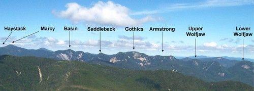 Great Range Traverse, Adirondack Mountains, NY