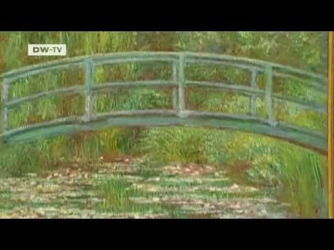 Impressionismi - Claude Monet  - Monetin puutarha ja koti (video 3:46).