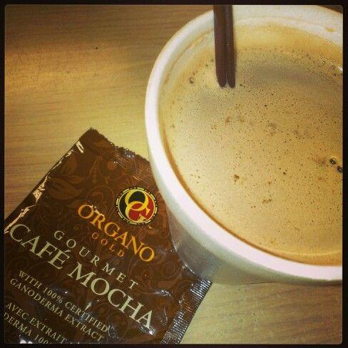 """Drink For Champions!"" ""What's in Your Cup?!"" #OrganoGoldCafeMocha #organogold #itscoffee #healthycoffee #ganoderma #coffeethatpays #futurediamond #dreamchaser www.nikkilovesredtea.organogold.com"