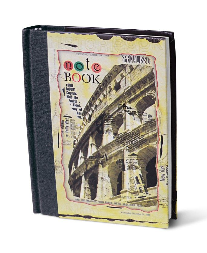 Premium Notebook - Design C (Unruled notebook),  A Trendy partner for everyday.