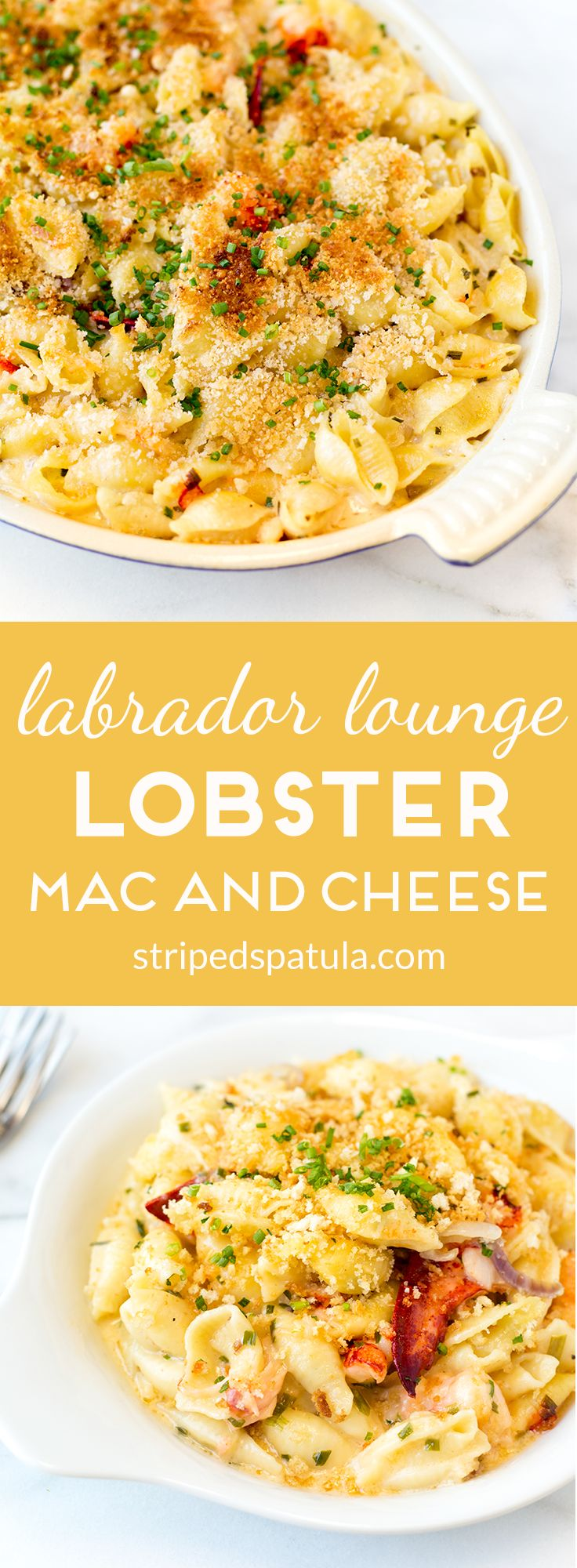 [sponsored] The recipe for rich and creamy Lobster Mac and Cheese from Labrador Lounge in Normandy Beach, NJ (via The Jersey Shore Cookbook)