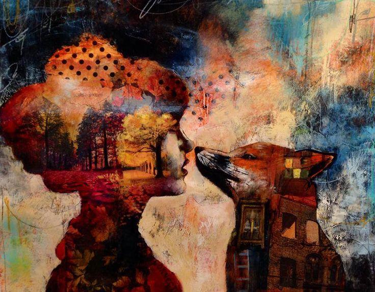 Дверь в мир снов: картины 16-летней художницы Dimitra Milan - Ярмарка Мастеров - ручная работа, handmade