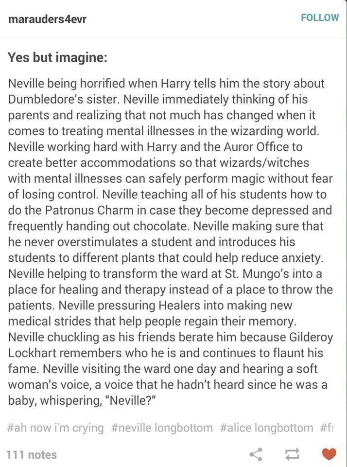 JKR PLEEEEEEEEEASE?!?!?!!?;?THKS NEEDED TO HAPPEN. /// so Neville gives people weed...