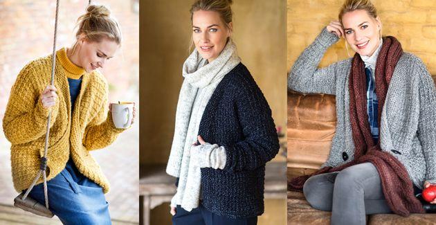 Doe het zelf - een warm vest breien