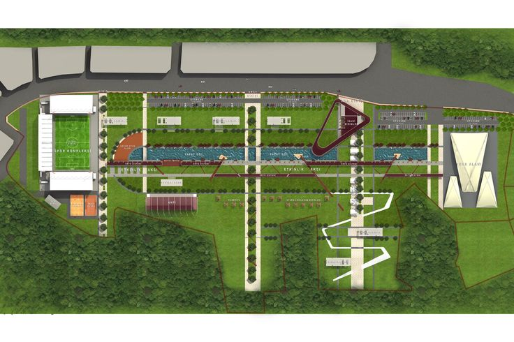 Ordu Kent Parkı / Urban Park Landscape PLAN