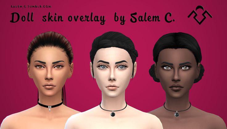 Doll skin overlay (TS4)standaloneskin detailunisexDOWNLOAD Credit Notes:hair/hair/eyes/eyes/eyelashes/eyelashes