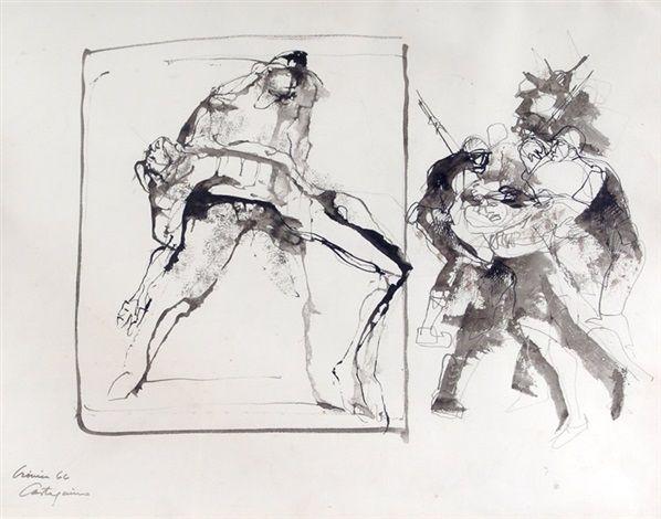 Crónica (1966) Juan Carlos Castagnino