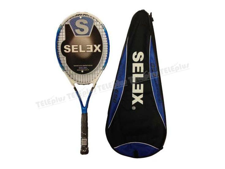 Selex Power 690 27inch Tenis Raketi - Uzunluk: 685mm(27)  Ağırlık:270 gr.  Kafa büyüklüğü 98 in2/632,25 cm2.  Denge:330 mm.  Dize gerilimi:18-20 kgs. - Price : TL94.00. Buy now at http://www.teleplus.com.tr/index.php/selex-power-690-27inch-tenis-raketi.html