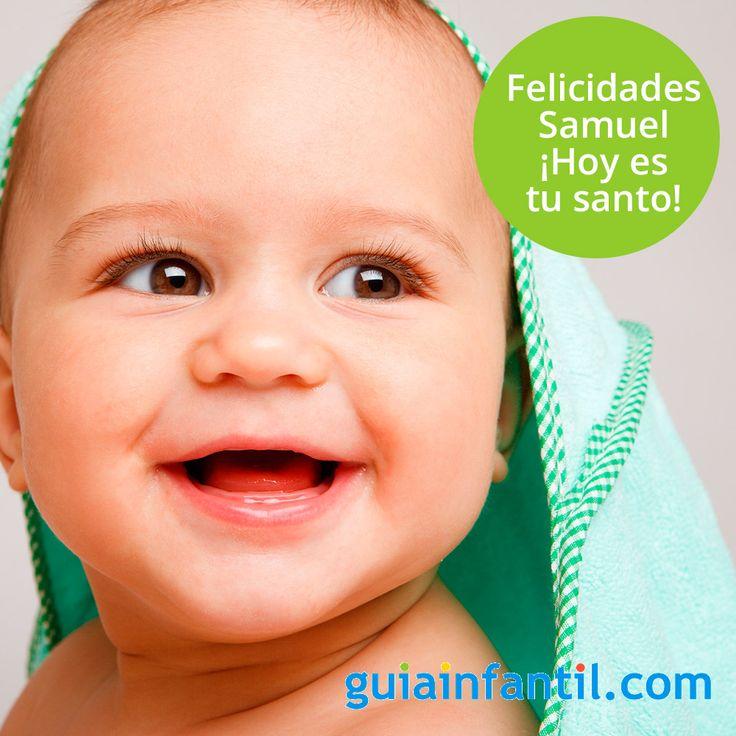 Samuel, un nombre con una larga tradición que celebra hoy su onomástica. ¿Imaginas qué significa este nombre?  http://www.guiainfantil.com/articulos/nombres/cristianos-santos/dia-del-santo-samuel-20-de-agosto-nombres-para-ninos/