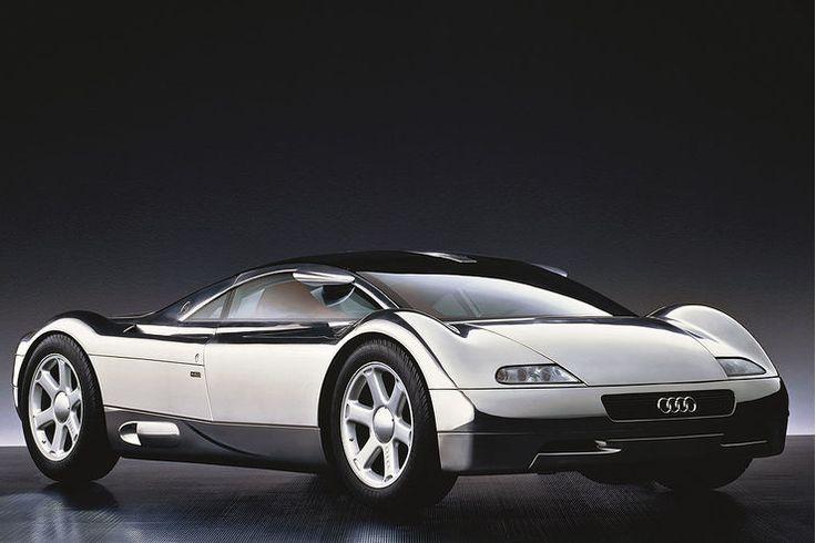 Audi Avus Quattro zelebrierte Piech 1991 abermals den AUDI Avus Quattro concept... Aluminium-Leichtbau. 509 PS W12 engine with only 1.250 Kg.