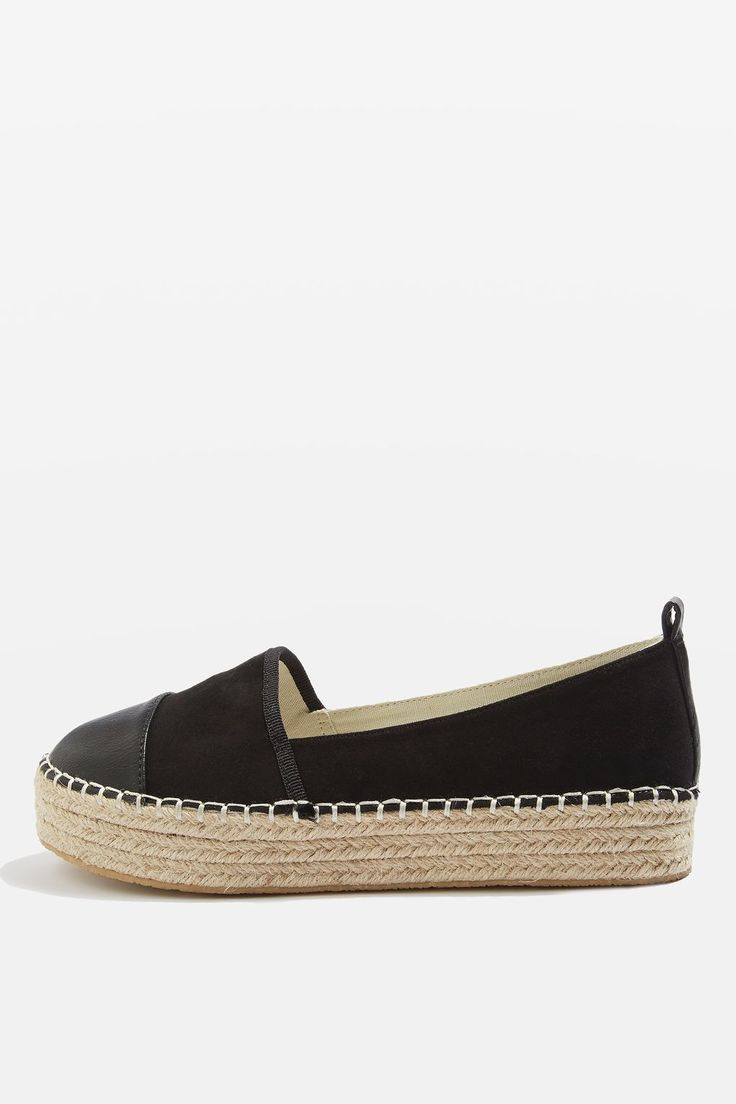 ARCHIE Toe Cap Espadrilles - Shoes- Topshop Europe