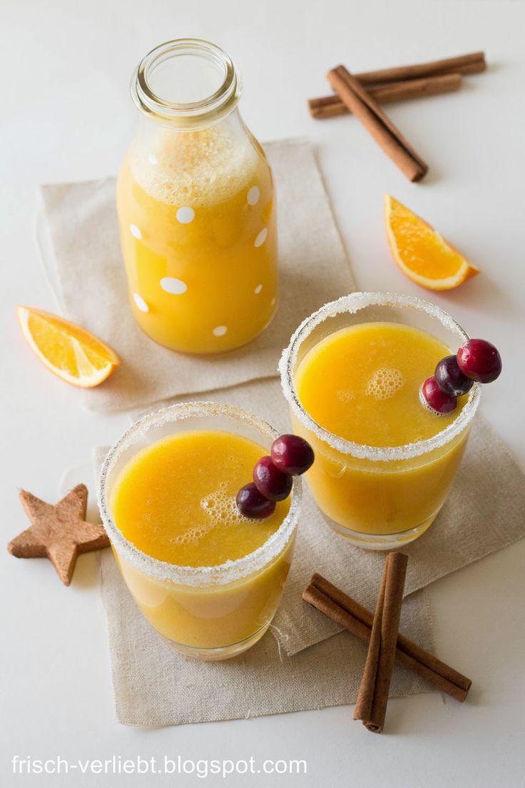 Zimt Orangen Weihnachtstrunk | Frisch Verliebt
