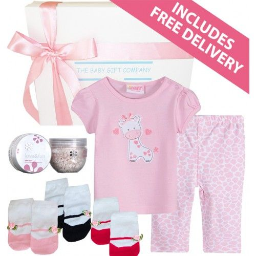 Creature Comfort Baby Girl Gift Box - Free Delivery