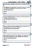 #Uebungen / #Aufgaben für den #Mathematikunterricht -  #Grundschule. 32 Zeit / Alter #Textaufgaben aus der 2.Klasse. Die Frage ist gegeben, es muss nur noch Rechnung und Antwort eingesetzt werden.  8 Arbeitsblätter + 4 Lösungsblätter mit ausführlichen Lösungen. Mit Lösungen zur Selbstkontrolle! Alle Materialien wurden in der Praxis entworfen und haben sich dort bestens bewährt. Angelehnt an die aktuellen Lehrpläne in Bayern. Sofortdownload