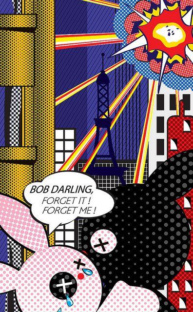 """""""Forget it!"""" d'apres Lichtenstein"""