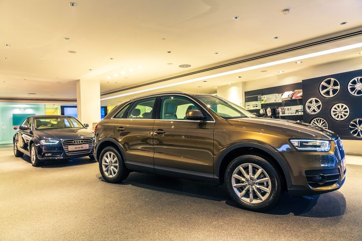 #Audi #Delhi Central Showroom; A feast for your eyes. A treat for your senses. Keep drooling.