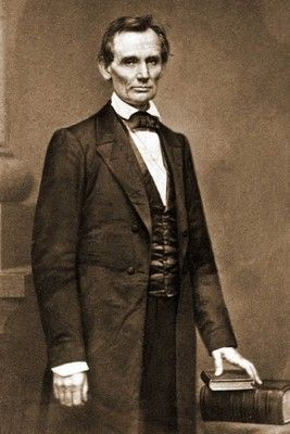 The photo was taken on Feb. 27, 1860, in New York City on the day that Lincoln made a speech that propelled him from regional Illinois politician to the front ranks of the national Republican Party and the anti-slavery movement in general.